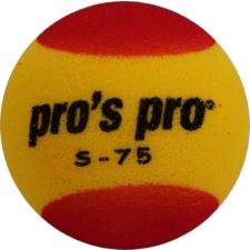 Pros Pro svammpall S-75 kollane/punane